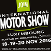 18 – 20 novembre 2016 : International Motor Show, Luxembourg
