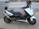 Patrick Pons : T-Max 530 Abs White Power & MT-09 Abs Black Power