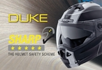 Caberg Duke : 5 étoiles aux tests Sharp