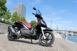 Piaggio Beverly 300 ie / 300 S ie/ 350 Touring : le maxi-scooter grandes roues