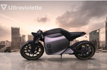 Ultraviolette F77 : moto électrique made in India