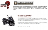 Winamax Sunday Surprise : Piaggio Mp3 LT 400cc à gagner