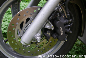 Honda S-Wing 125 cc - Freins ABS