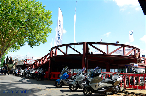 Bmw Unstoppable Tour : 1.845 Cv, 17 motos et scooters