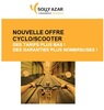 Solly Azar : nouvelle offre Cyclo/Scooter